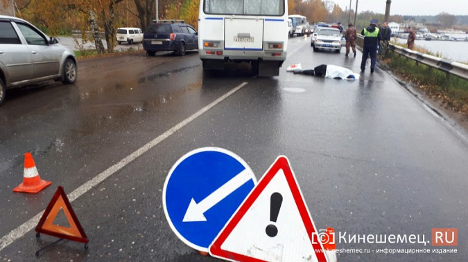 В Кинешме пенсионерка погибла под колесами автобуса фото 3