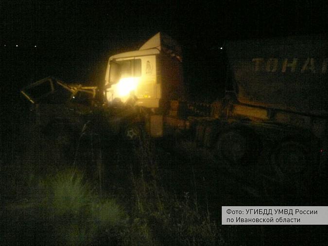 Под Кинешмой погиб 51-летний водитель в результате столкновения «УАЗа» и «МАНа» фото 2