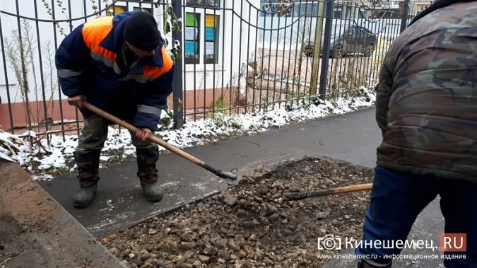 В Кинешме завершилась эпопея с восстановлением трех метров дороги к детскому саду фото 3