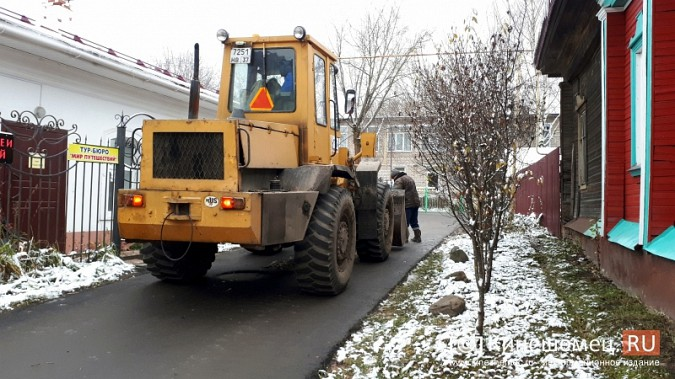 В Кинешме завершилась эпопея с восстановлением трех метров дороги к детскому саду фото 4