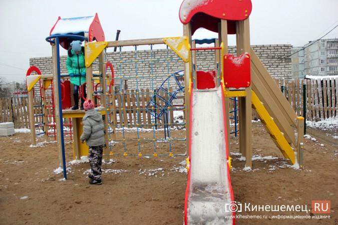 В Кинешме торжественно открыли детский городок на улице Менделеева фото 6