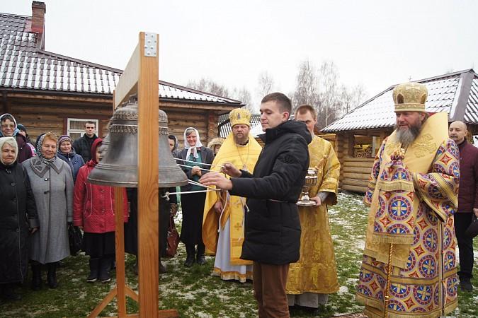 В новом кинешемском храме освятили колокола фото 4