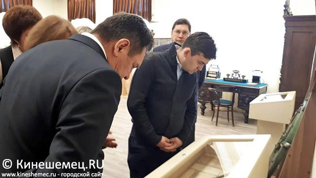Руководитель региона посетил кинешемский музей фото 4