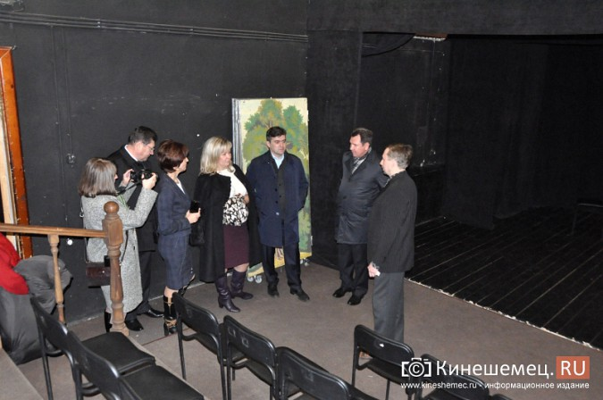 Главу Ивановской области впечатлил кинешемский драмтеатр фото 10