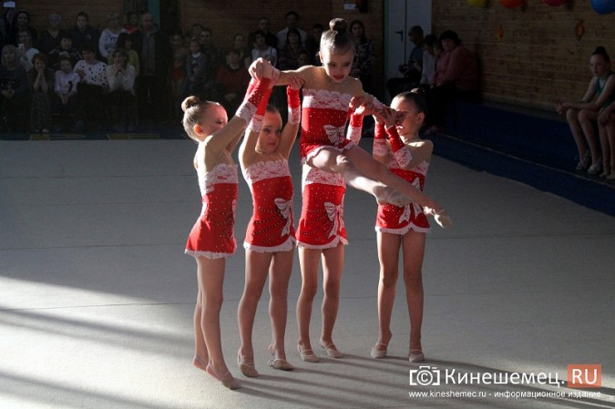 В Кинешме прошел турнир по художественной гимнастике «Золотой листопад» фото 20
