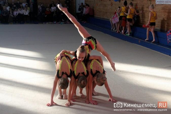В Кинешме прошел турнир по художественной гимнастике «Золотой листопад» фото 19