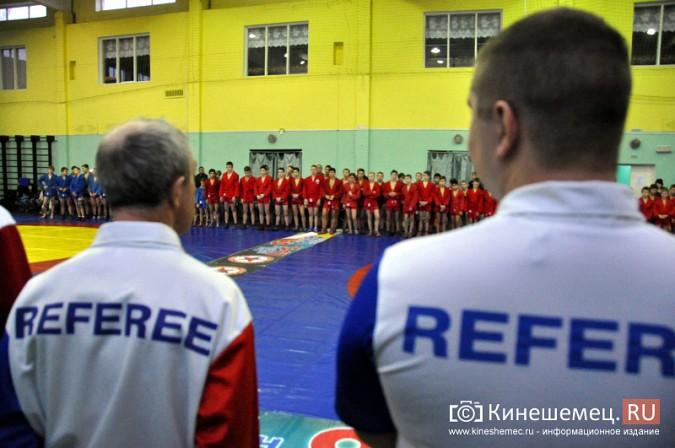 В Кинешме прошел турнир городов России по самбо фото 5