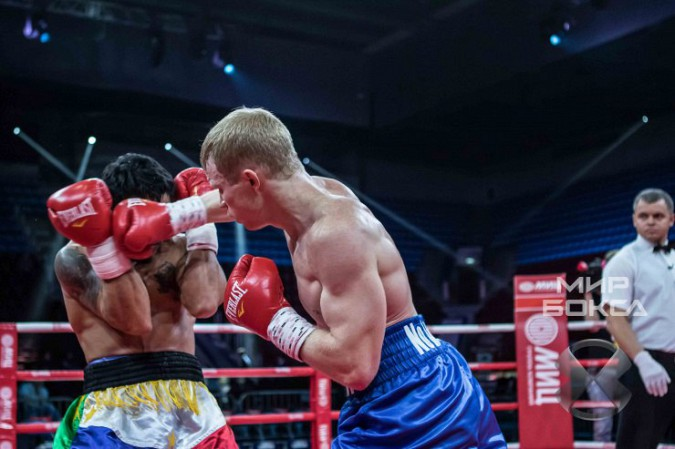 Кинешемский боксер Евгений Смирнов победил филиппинца фото 7