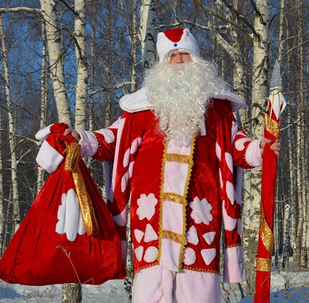 Дед Мороз и Снегурочка в Кинешме фото 4