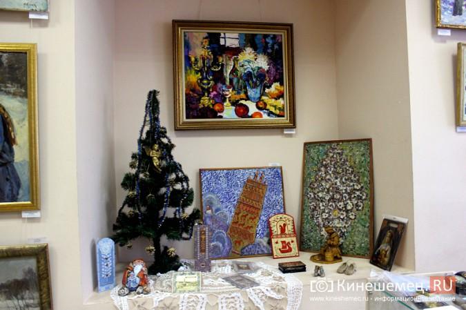 «Яркие краски холодной зимы» засияли в кинешемском художественном салоне фото 6