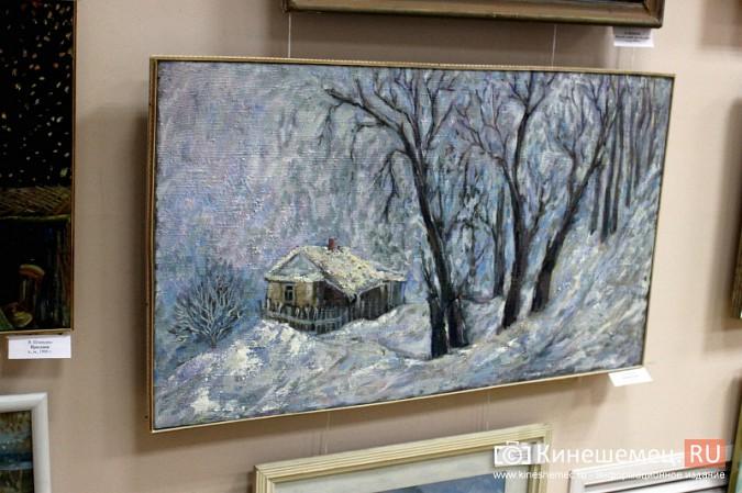 «Яркие краски холодной зимы» засияли в кинешемском художественном салоне фото 3