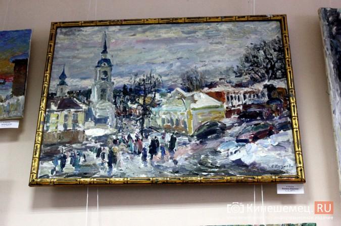 «Яркие краски холодной зимы» засияли в кинешемском художественном салоне фото 5