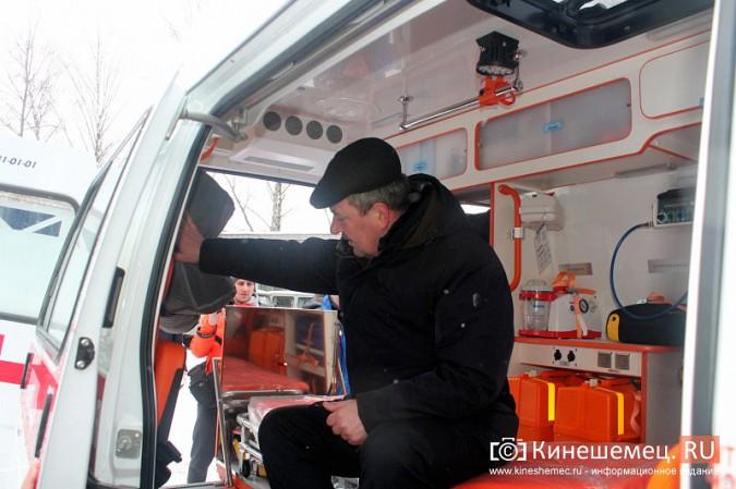 Автопарк Кинешемской ЦРБ пополнился двумя автомобилями фото 14