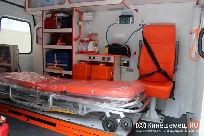 Автопарк Кинешемской ЦРБ пополнился двумя автомобилями фото 4