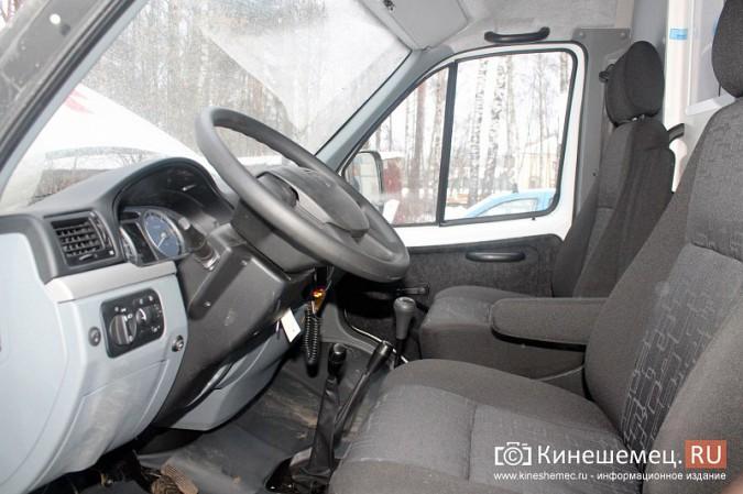 Автопарк Кинешемской ЦРБ пополнился двумя автомобилями фото 8