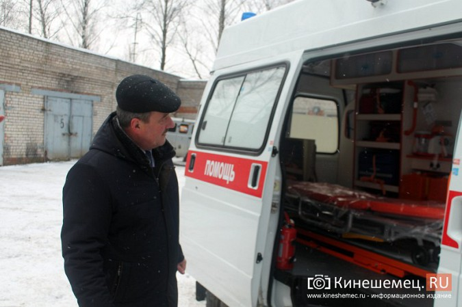 Автопарк Кинешемской ЦРБ пополнился двумя автомобилями фото 13