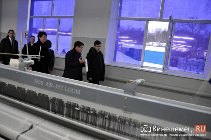 Глава Ивановской области Станислав Воскресенский посетил ХБК «Навтекс» фото 4
