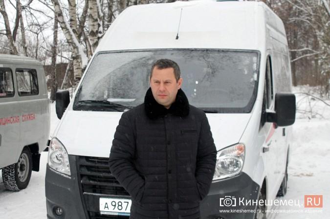 Кинешемская ЦРБ пополнила автопарк еще двумя автомобилями фото 17