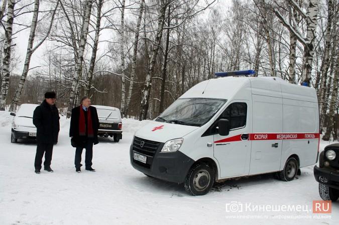Кинешемская ЦРБ пополнила автопарк еще двумя автомобилями фото 2