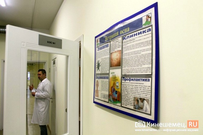 В Кинешме завершился ремонт инфекционного корпуса ЦРБ фото 11