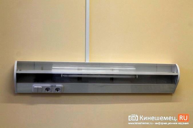 В Кинешме завершился ремонт инфекционного корпуса ЦРБ фото 50