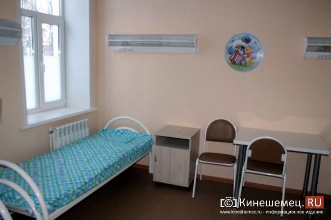 В Кинешме завершился ремонт инфекционного корпуса ЦРБ фото 8