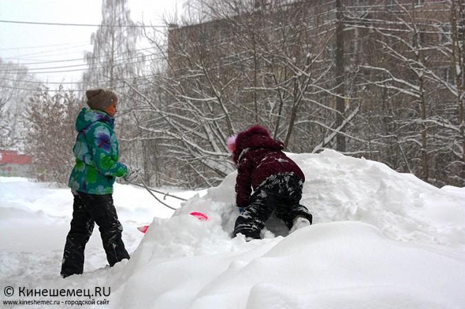 Кинешма в снегу фото 21