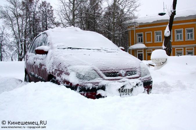 Кинешма в снегу фото 43