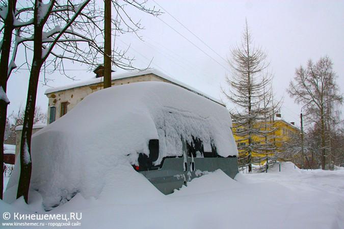Кинешма в снегу фото 34
