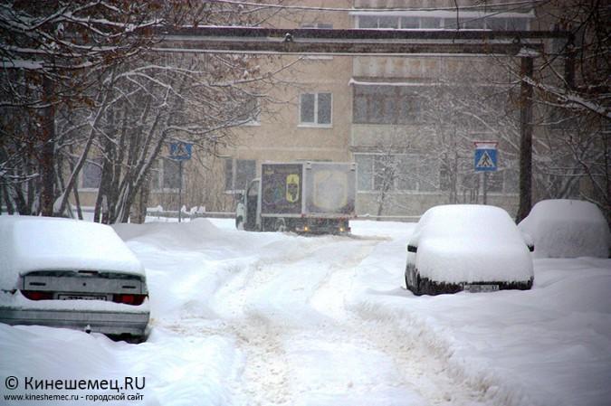 Кинешма в снегу фото 20