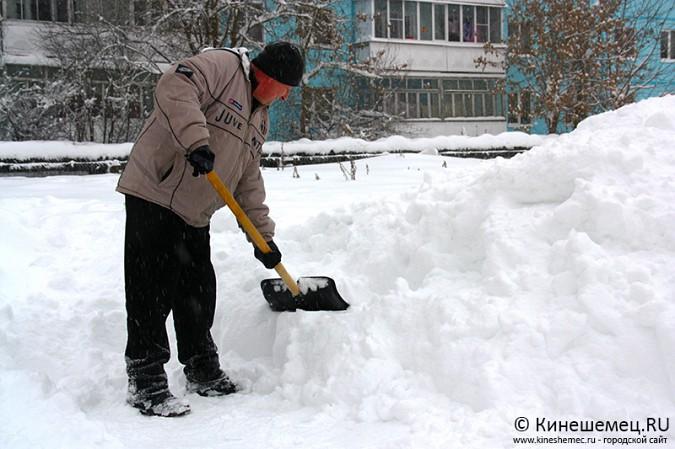 Кинешма в снегу фото 31