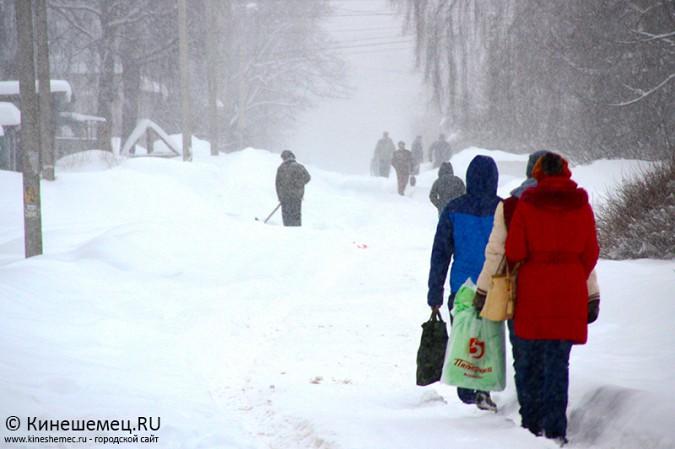Кинешма в снегу фото 24