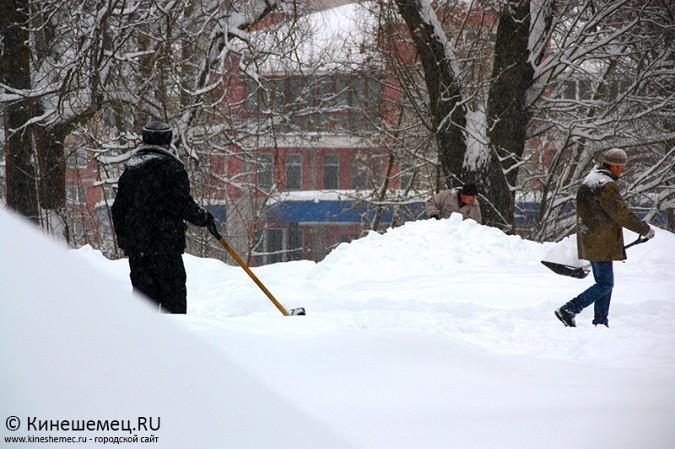 Кинешма в снегу фото 29
