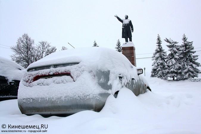 Кинешма в снегу фото 44