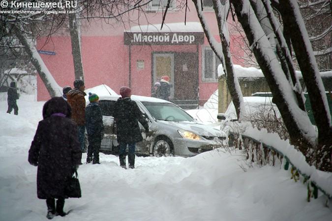 Кинешма в снегу фото 9
