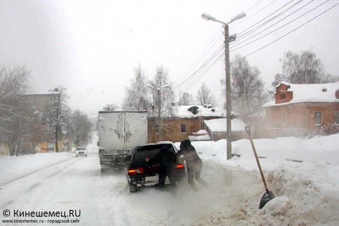 Кинешма в снегу фото 39