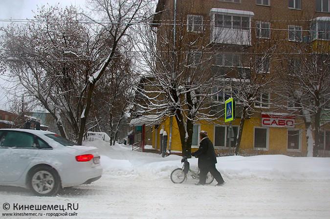Кинешма в снегу фото 37