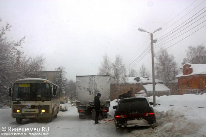 Кинешма в снегу фото 38