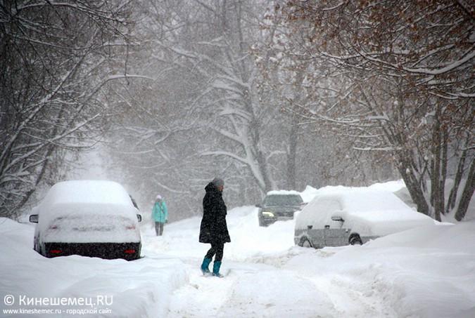Кинешма в снегу фото 16