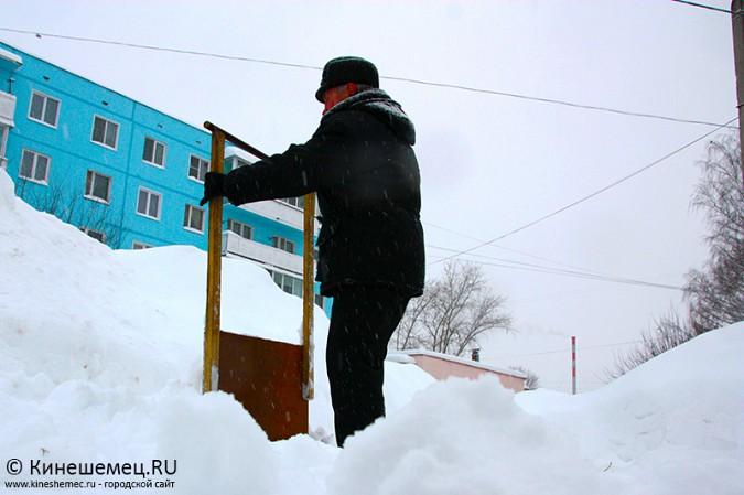 Кинешма в снегу фото 30