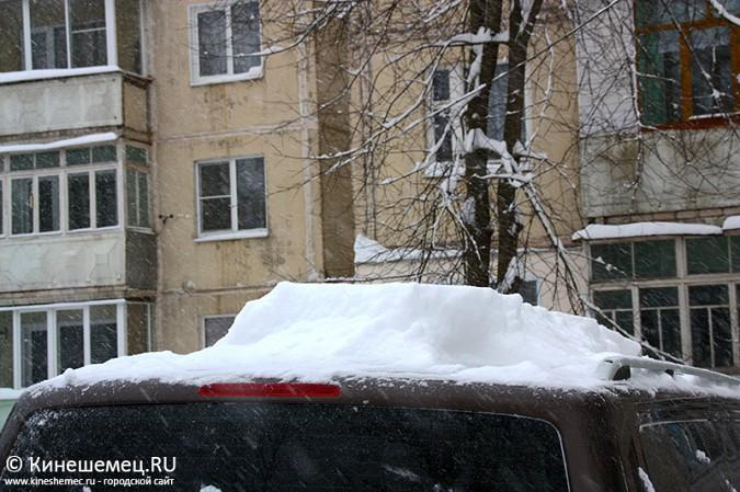 Кинешма в снегу фото 12