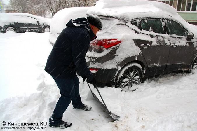 Кинешма в снегу фото 13