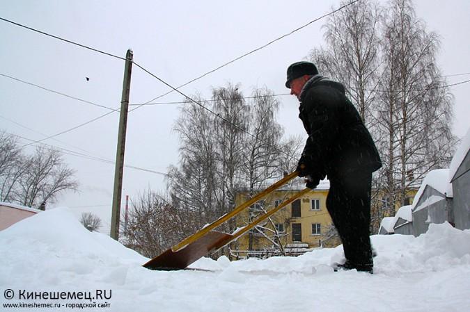 Кинешма в снегу фото 15