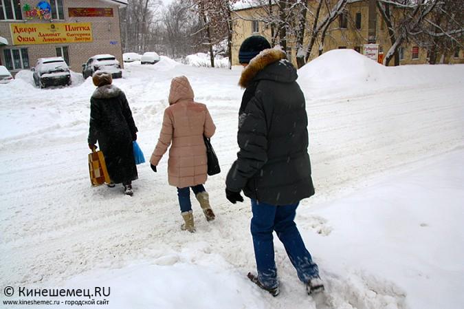 Кинешма в снегу фото 28