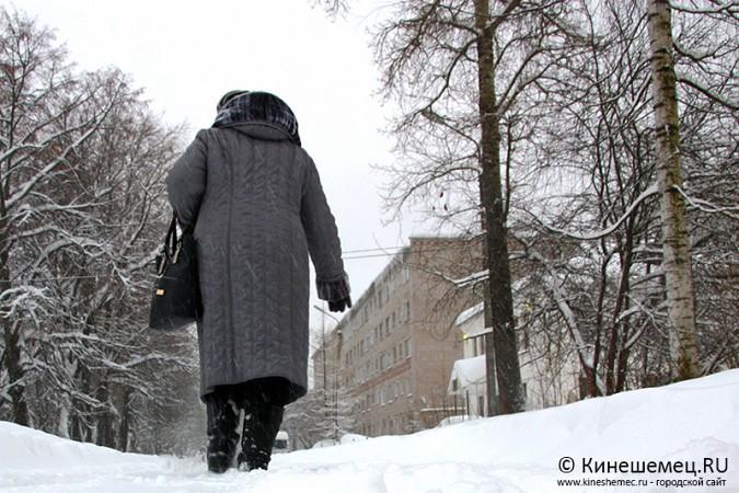 Кинешма в снегу фото 35
