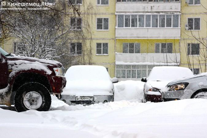 Кинешма в снегу фото 10