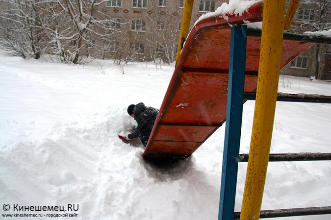 Кинешма в снегу фото 19