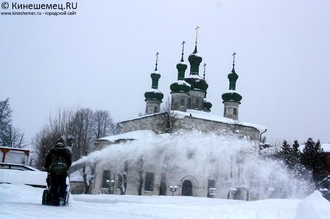 Кинешма в снегу фото 45