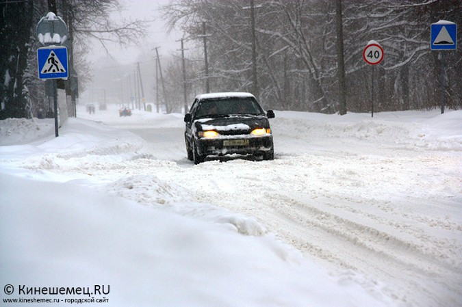 Кинешма в снегу фото 27