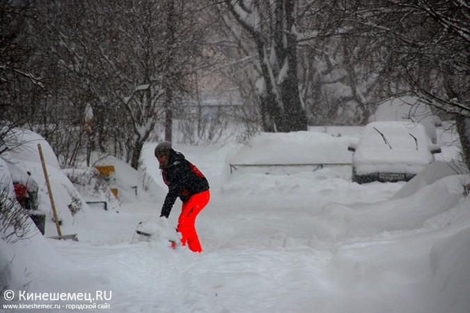 Кинешма в снегу фото 8